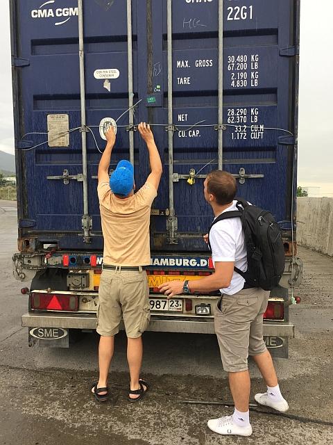 Филиал Кредо Транс: экспедирование контейнеров в Новороссийске