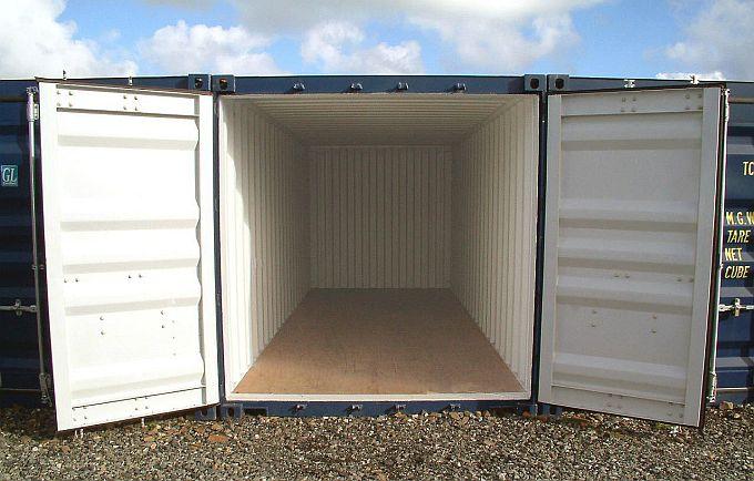 Сколько квадратных метров в контейнере 20 футов?