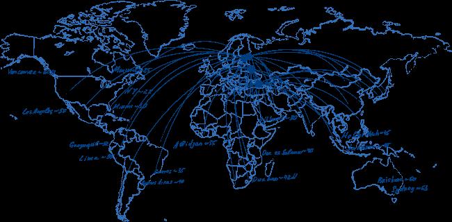география экспортных поставок продукции животноводства